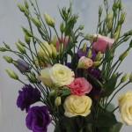 Maintenant disponible dans notre établissement. Lysianthus - Un enchantement en tendres coloris pastels.